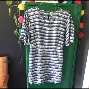 Old Navy Shibori Dyed Maternity Tunic